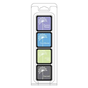 Hero Arts Field Notes Ink Cubes, 4 pack cubes