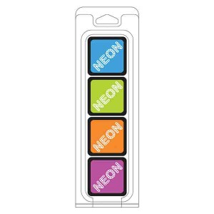 Hero Arts Neon Ink Cubes, 4 pack cubes class=