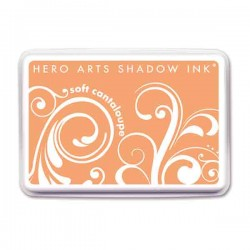 Soft Cantaloupe Hero Arts Shadow Ink Pad