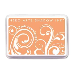 Soft Cantaloupe Hero Arts Shadow Ink Pad class=