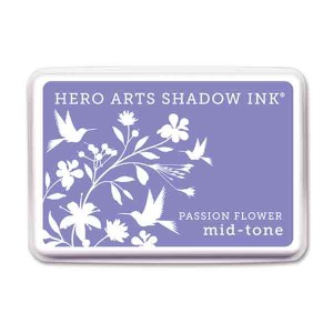 Passion Flower Hero Arts Shadow Ink Pad, Mid-tone