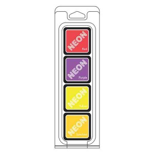 Hero Arts Neon II Ink Cubes, 4 pack cubes class=