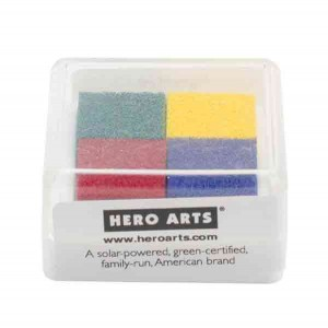 Hero Arts Basic Pigment Ink Cube - 4 colors class=