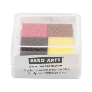 Hero Arts Cake & Coffee Ink Cube - 4 colors class=