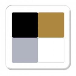 Hero Arts Formal Pigment Ink Cube - 4 colors