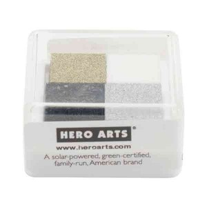 Hero Arts Formal Pigment Ink Cube - 4 colors class=
