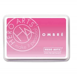 Hero Arts Pink to Red Ombre Ink Pad class=