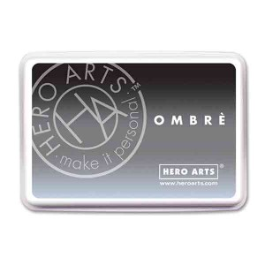 Gray to Black Ombre Ink Pad