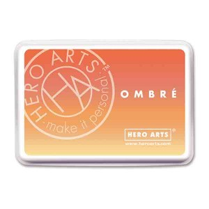 Hero Arts Butter Bar to Orange Soda Ombre Ink Pad