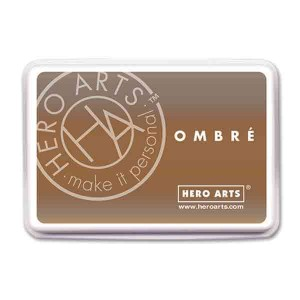 Hero Arts Sand to Chocolate Brown Ombre Ink Pad