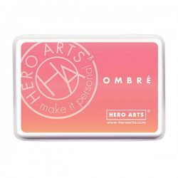 Hero Arts Light to Dark Peach Ombre Ink Pad