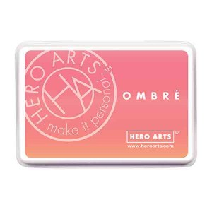 Hero Arts Light to Dark Peach Ombre Ink Pad
