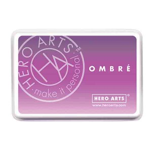 Hero Arts Lilac to Grape Purple Ombre Ink Pad class=