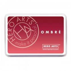 Hero Arts Light to Red Royal Ombre Ink Pad