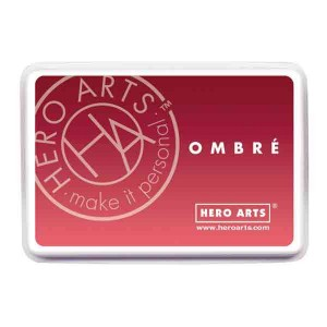 Light to Red Royal Ombre Ink Pad