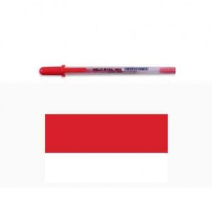 Sakura Gelly Roll Medium Point Pen - Red
