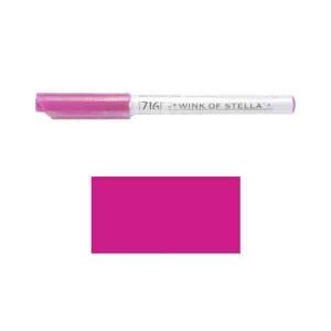 ZIG Wink of Stella Glitter Marker – Dark Pink