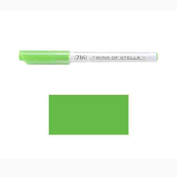 Zig Wink Of Stella Glitter Marker Green