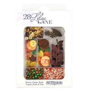 Autumn Afternoon Embellishment Kit class=