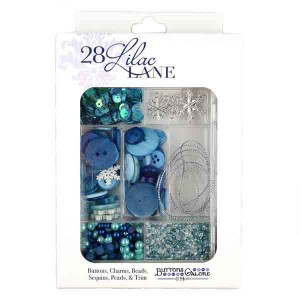 Let It Snow Embellishment Kit
