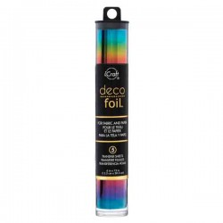 Rainbow Deco Foil Specialty Transfer Sheets
