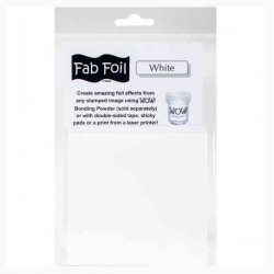 WOW! White Fab Foil