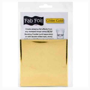 WOW! Glitter Gold Fab Foil
