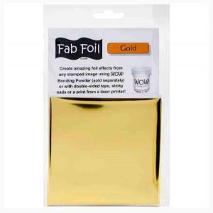 WOW! Gold Fab Foil