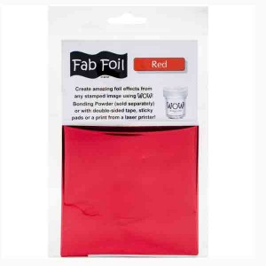 WOW! Red Fab Foil