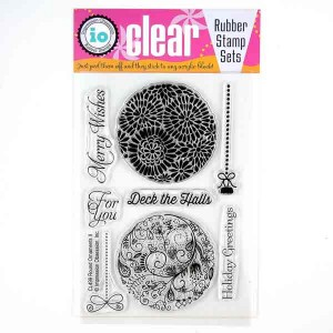 Round Ornaments 2 Stamp Set