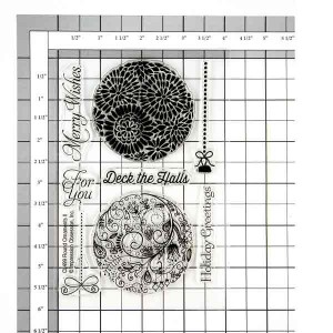 Round Ornaments 2 Stamp Set class=
