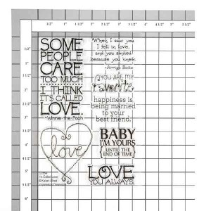 It's Called Love Stamp Set class=