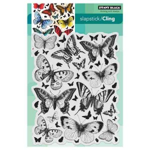 Butterfly Charmer Cling Stamp