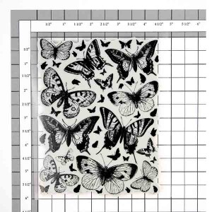 Penny Black Butterfly Charmer Slapstick Cling Stamp class=