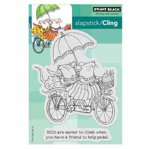 Penny Black Tandem Slapstick/Cling Stamp