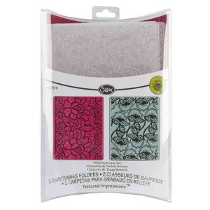 Bohemian Lace Embossing Folder Set