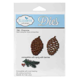 Elizabeth Craft Designs Pinecone Die Set