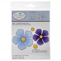 Elizabeth Craft Designs Crystal Flower Set 1