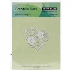 Flower Heart Creative Die