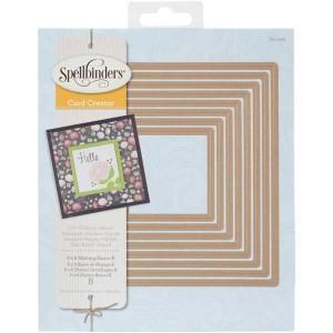Spellbinders 6 X 6 Matting Basics B Card Creator Dies
