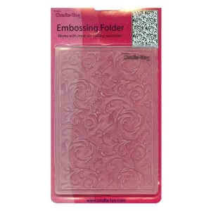 Crafts-Too Scrollworks Embossing Folder