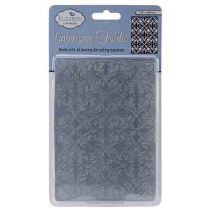 Elizabeth Craft Designs Swirly Curves Embossing Folder