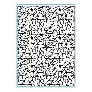 Elizabeth Craft Designs Swirly Curves Embossing Folder class=