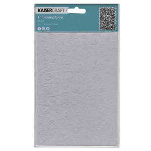 Kaisercraft Roses Embossing Folder