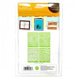 Animal Prints Cuttlebug Embossing Folder – 4 pk