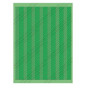 Cuttlebug Herringbone Embossing Folder