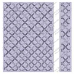 Wicker Weave Embossing Folder