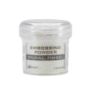 Ranger Embossing Powder - Bridal Tinsel class=