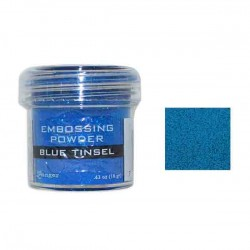 Ranger Blue Tinsel Embossing Powder