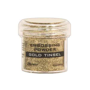 Ranger Gold Tinsel Embossing Powder class=